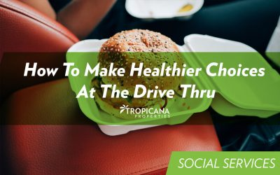 How To Make Healthier Choices At The Drive Thru