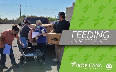 Feeding our tenants