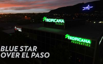 Blue Star Over El Paso – We back the blue!
