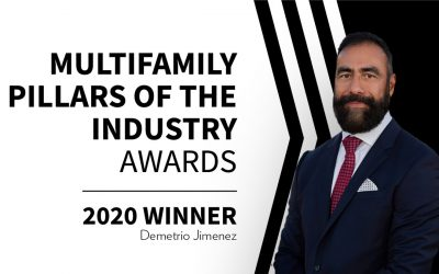 Demetrio Jimenez, Tropicana Properties CEO, named 2020 NAHB Multifamily Pillars of the Industry, One to Watch Award Winner